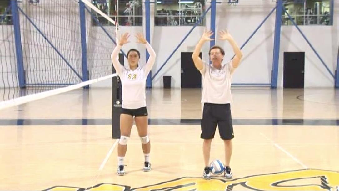 Setting - Learn to Play Volleyball Skill #4