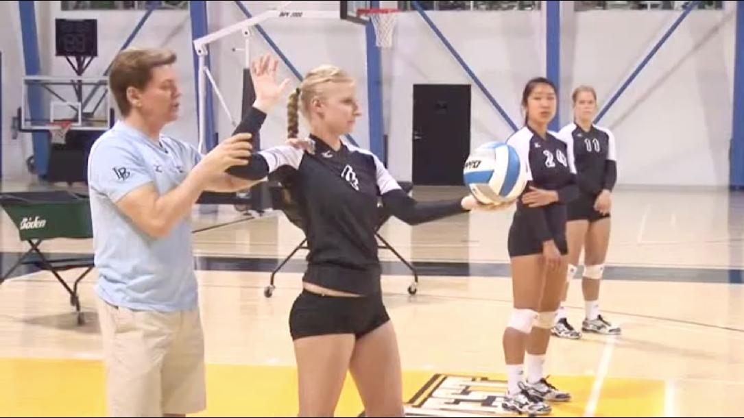 Serving - Learn to Play Volleyball Skill #5