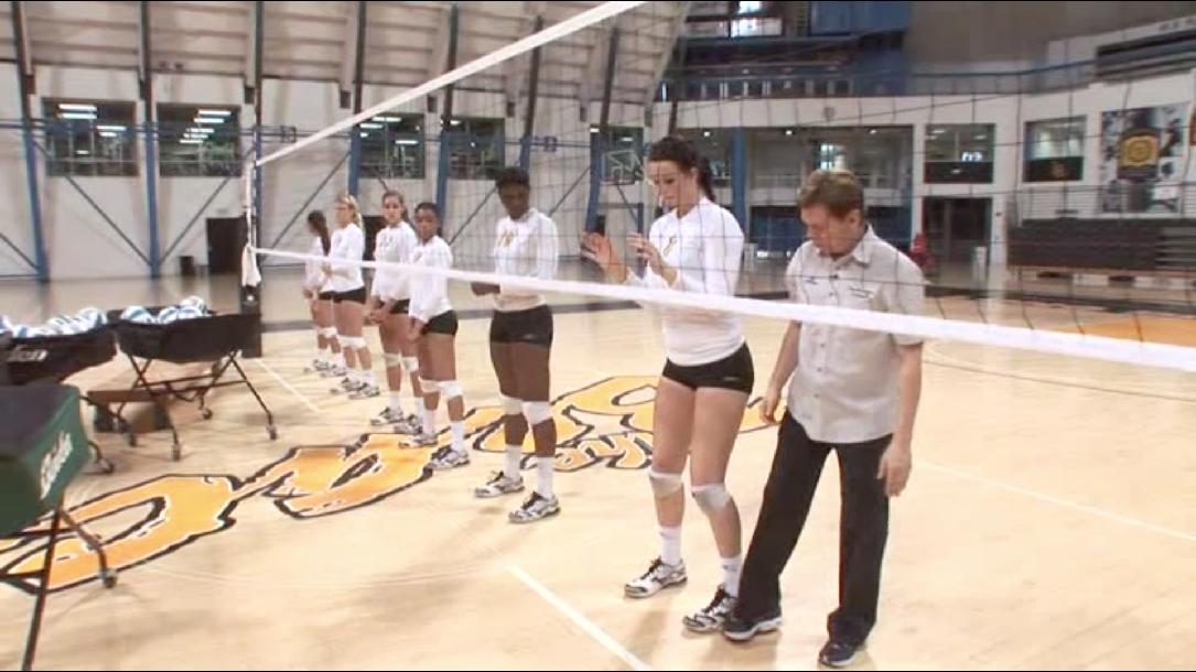 Blocking - Learn To Play Volleyball Skill #6