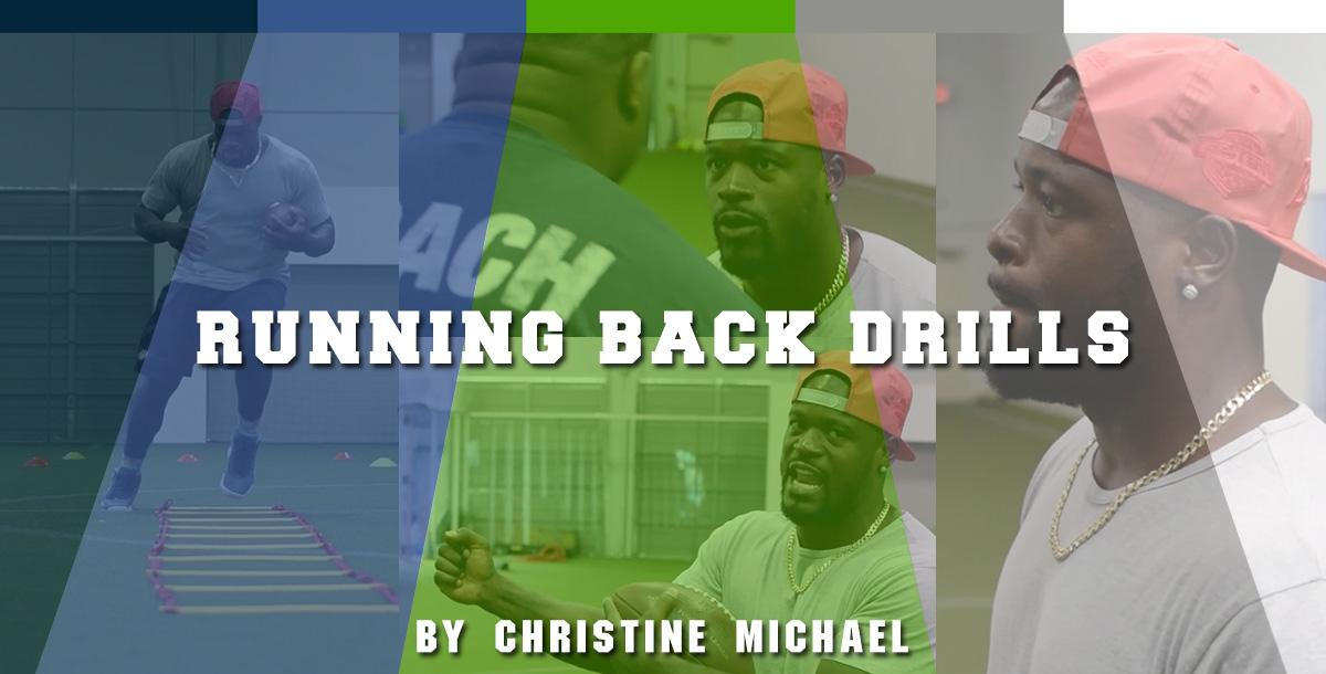 NFL Christine Michael`s Drills for Running Backs