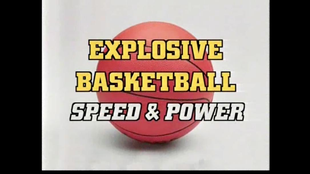 Explosive Basketball Quickness & Agility by Speed Quest