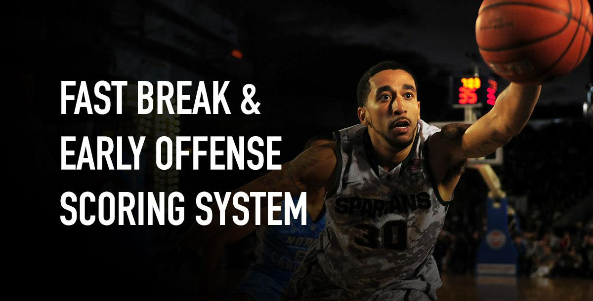 Fast Break & Early Offense Scoring System