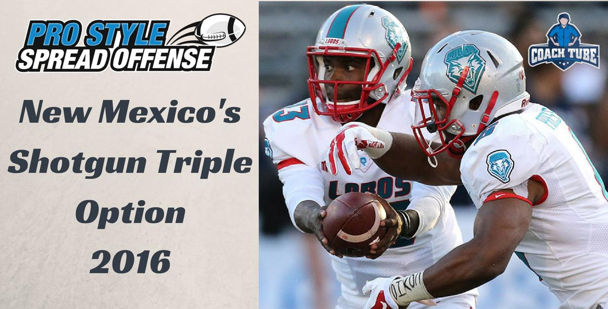 Breaking down the New Mexico Shotgun Triple Option Offense