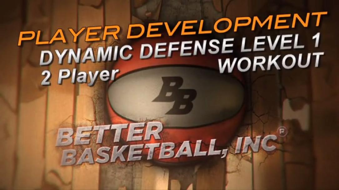 2 Player Level 1 Defensive Workout