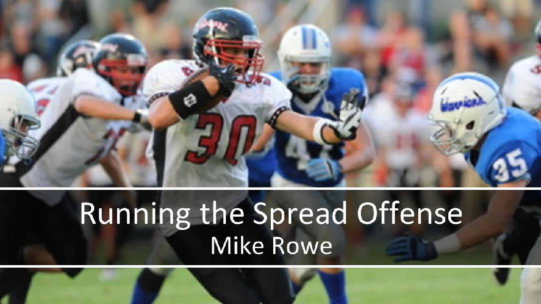 Running the Spread Offense