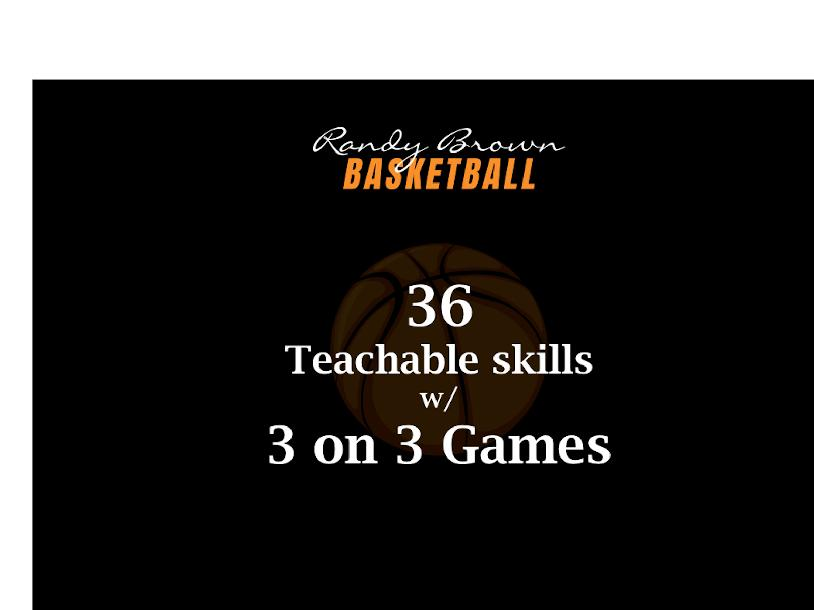 36 Teachable Skills w/ 3 on 3 Games