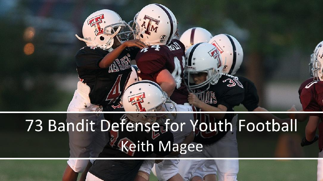 73 Bandit Defense for Youth Football