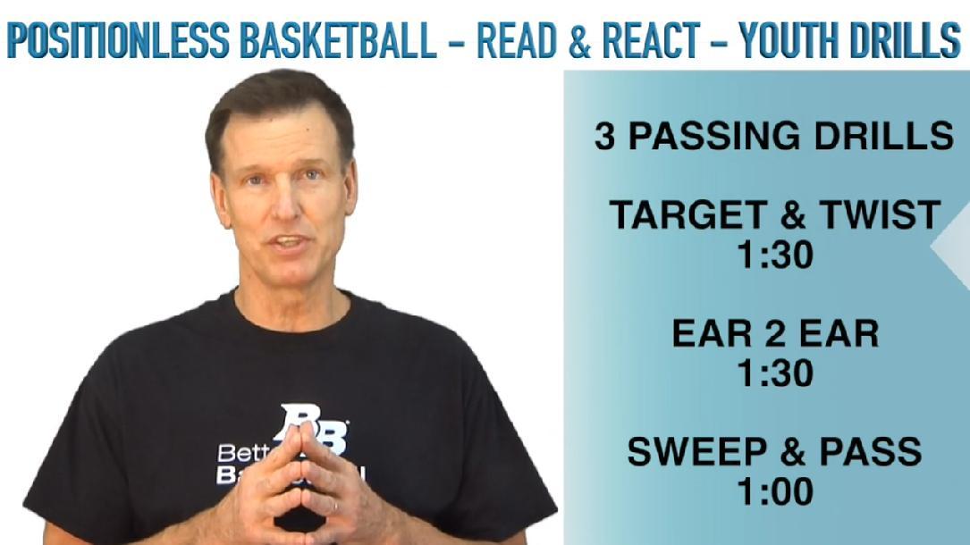 Read & React Youth Practices & Drills: Practice 5