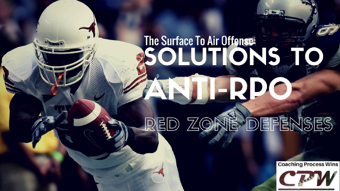 Surface to Air Offense: Solutions to Anti-RPO Red Zone Defenses