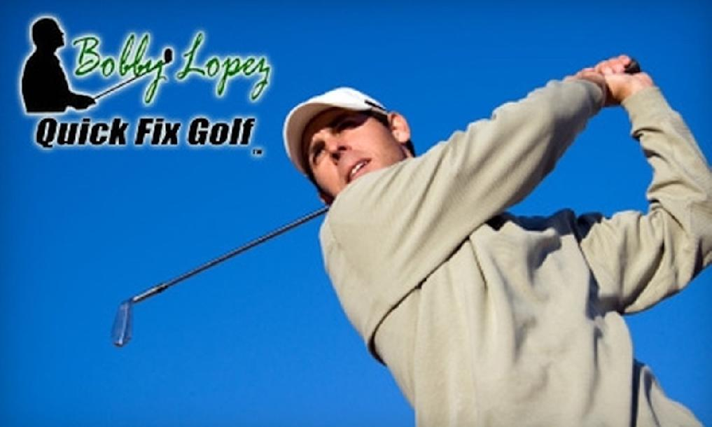 Golf Swing Dynamics by Bobby Lopez