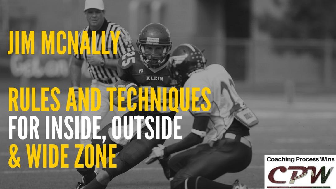 Rules and Techniques for Blocking Inside, Outside, & Wide Zone