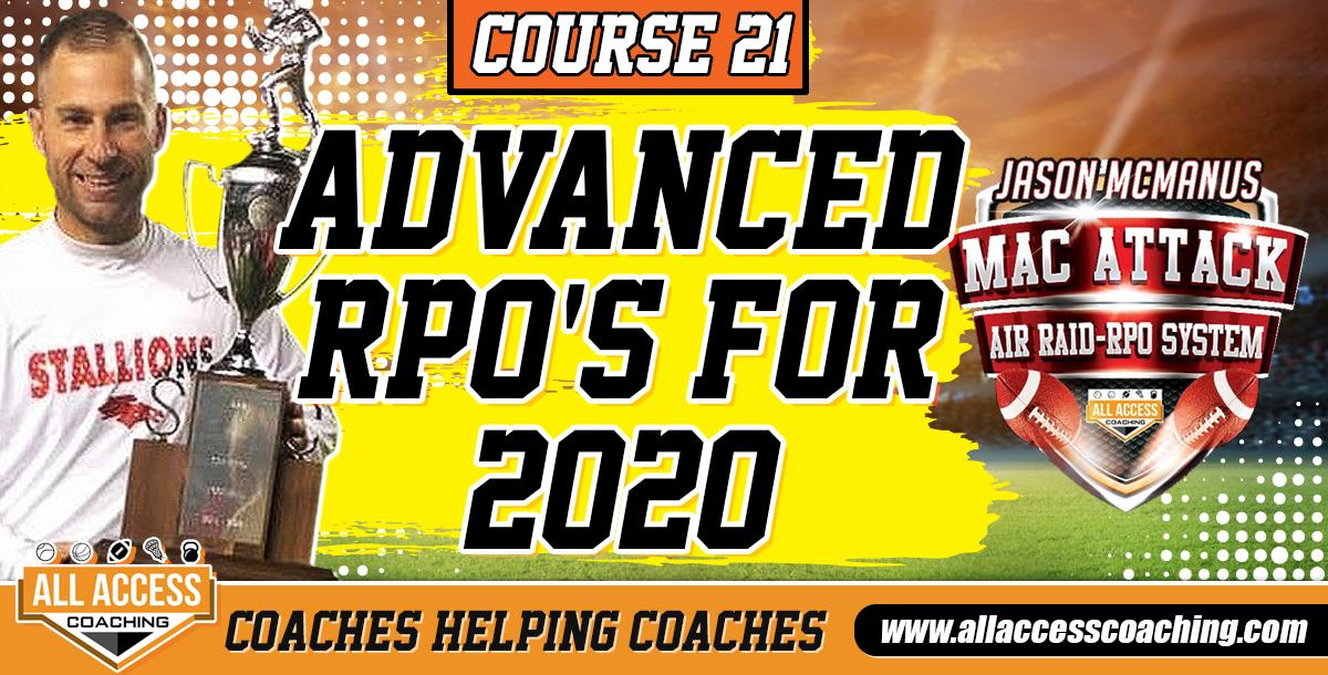 Advanced RPO`s including Practice Drills