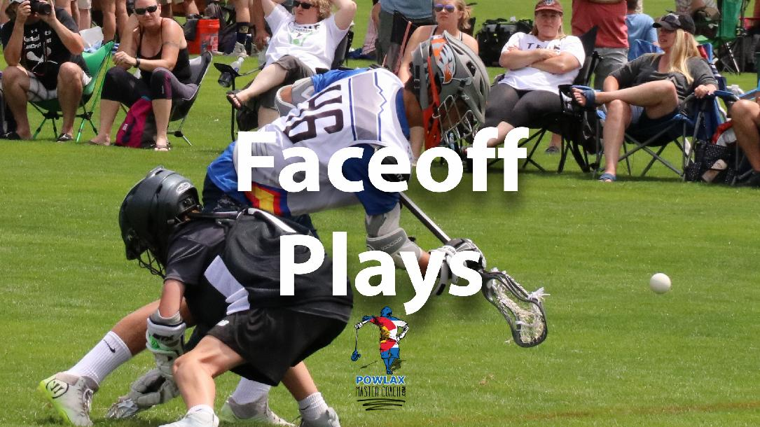 Faceoff Plays | Lacrosse | POWLAX