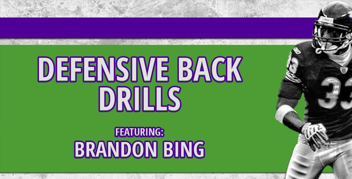 Brandon Bing Defensive Back Drills